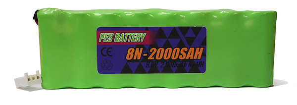 8N2000SAH Nihon Kohden Cardiofax ECG 6951d Replacement Battery